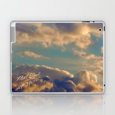 That Doesn't Matter Up Here Laptop & iPad Skin