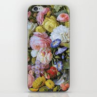 Vintage Varnish- Flowers… iPhone & iPod Skin