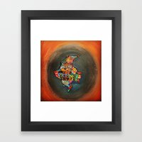 Colombia Tierra Querida Framed Art Print