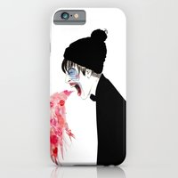 iPhone & iPod Case featuring Jealousy Snaking Up Again by Olive Primo Design + Illustration