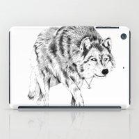 Mister Wolf iPad Case