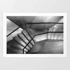flat vertigo Art Print