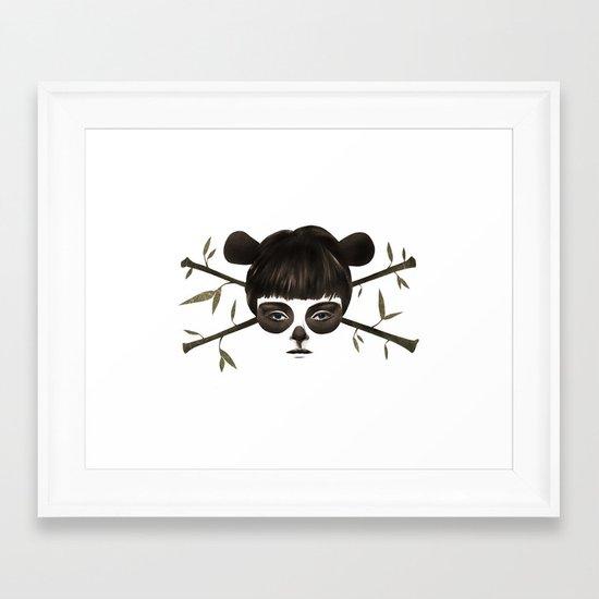 Pirate Panda Framed Art Print