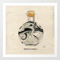 Bottled Demons Art Print