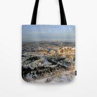 The Bad Lands of North Dakota Tote Bag