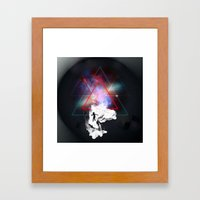 Triste Romance Framed Art Print