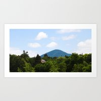 Church on the Hill Art Print