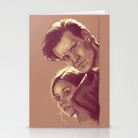 Mysterious People - Doct… Stationery Cards