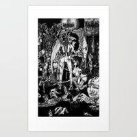 In Hell We Are The Cockr… Art Print
