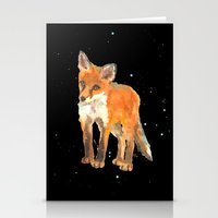 Fox Kit - First Snow Stationery Cards