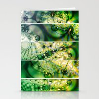 Emerald Universe (Five Panels Series) Stationery Cards