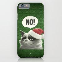 Grumpy Xmas iPhone 6 Slim Case