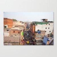 India New Delhi Pahargan… Canvas Print