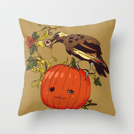 Blind Night Throw Pillow