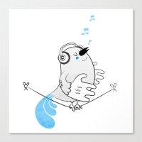 Tweettie Canvas Print