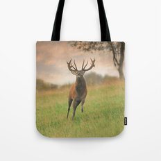 Charging Stag Tote Bag
