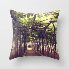 Lemon Grove in Ravello, Italy Throw Pillow