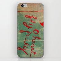 o heart iPhone & iPod Skin