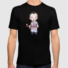 Plushie Bateman  SMALL Mens Fitted Tee Black