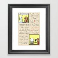 Antics #333 - Healthy Li… Framed Art Print