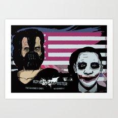 Bright Bipartisan Poster Art Print