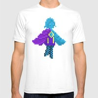 Pixel Fi Mens Fitted Tee White SMALL
