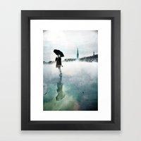 La Danse de la Pluie II Framed Art Print