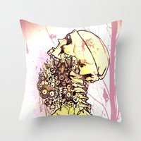 Mourning Dew Throw Pillow