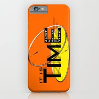 iPhone & iPod Case featuring It's just a matter of time by Vanya