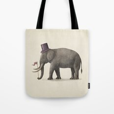 Elephant Day  Tote Bag