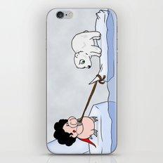 Saving the polar bears iPhone & iPod Skin