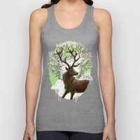 Red Stag Unisex Tank Top