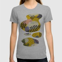 Piña Colada Womens Fitted Tee Athletic Grey SMALL