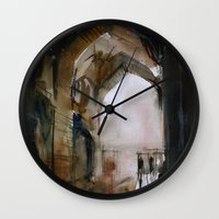 Under the Ali Qapu palace Wall Clock