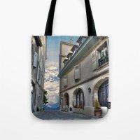 Far Beyond The Street Tote Bag