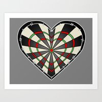 Don't Use My Heart As A … Art Print