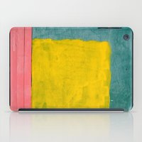 Pink + Yellow + Blue iPad Case