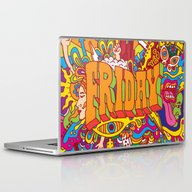 Laptop & iPad Skin featuring Friday by Roberlan Borges