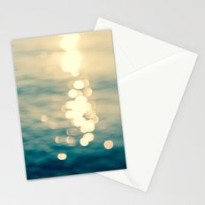 Blurred Tides Stationery Cards