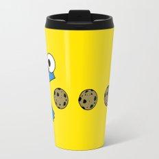Cookie monster Pacman Travel Mug