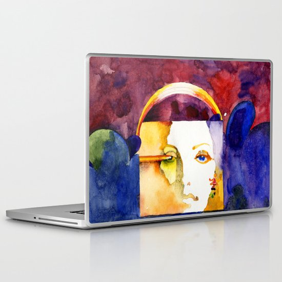 Lady Madonna Laptop & iPad Skin