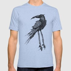 Bad Trip Crow Mens Fitted Tee Athletic Blue SMALL