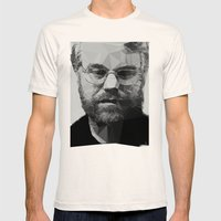 R.I.P Philip Seymour Hoffman Mens Fitted Tee Natural SMALL