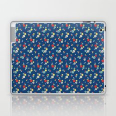blossom ditsy in monaco blue Laptop & iPad Skin