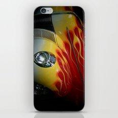 Flaming Beauty iPhone & iPod Skin