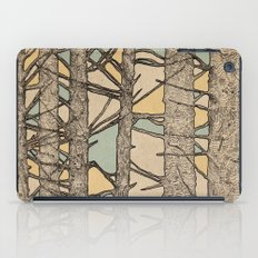 Stained Glass Trees iPad Case