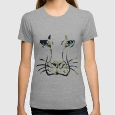 King of Beasts Womens Fitted Tee Athletic Grey SMALL