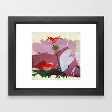 scatter, 5 Framed Art Print