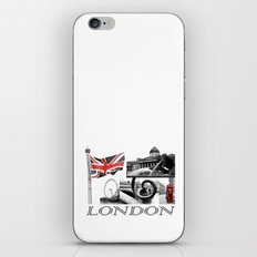 London Reds iPhone & iPod Skin