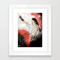 MJ Shamone!  Framed Art Print
